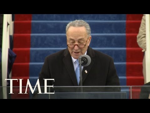 Chuck Schumer's Inauguration Day Remarks: We Are All Exceptional   Donald Trump Inauguration   TIME