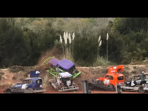 2 Stockcars Races Taipa Speedway 2021 - dirt track racing video image