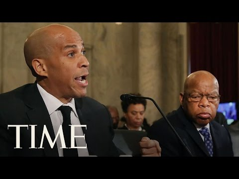 Senator Cory Booker Opposes Jeff Sessions As Attorney General   TIME