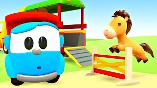 Sing with Leo! Animals Train Song for Babies: Learn Animal Names and Sounds with the Animals Song