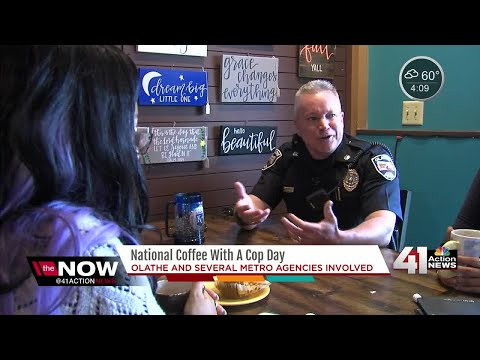 National Coffee With A Cop Day gives KC area residents chance to talk openly with officers