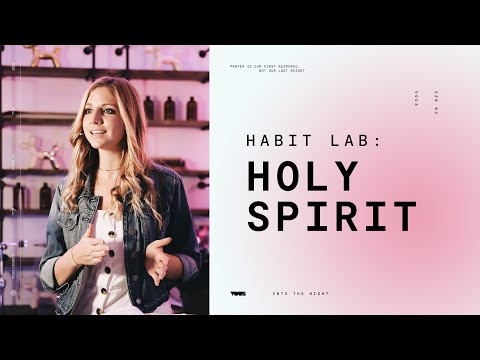 Join us LIVE at VOUS Church  Habit Lab: Holy Spirit August 27th, 2020