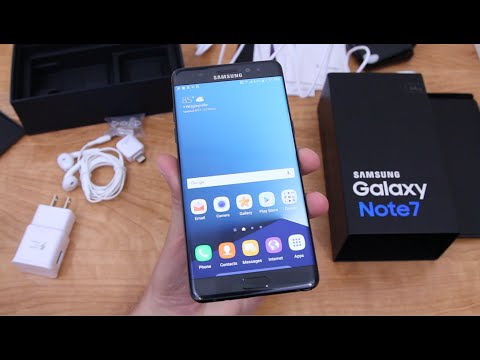 Galaxy Note 7 Unboxing and Impressions! - UCbR6jJpva9VIIAHTse4C3hw