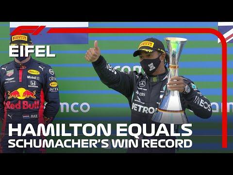 Lewis Hamilton Matches Michael Schumacher's Incredible Win Record