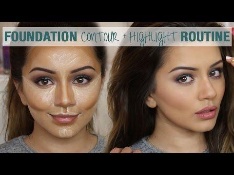 Tutorial | Foundation Contour & Highlight Routine | Kaushal Beauty - UC5lRKBgDMpPas8-VP3wsh0A