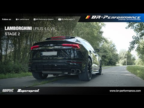 Lamborghini Urus 4.0 V8 Bi-Turbo / Stage 2 By BR-Performance / EXHAUST SOUND