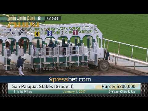 San Pasqual Stakes (Gr. II) - Sunday, January 1, 2017