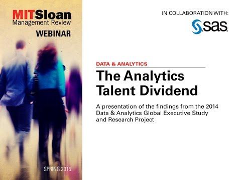 The Analytics Talent Dividend