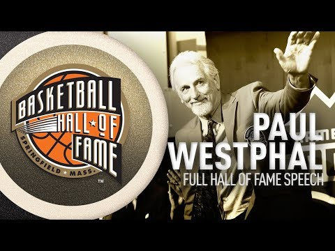 Paul Westphal | Hall of Fame Enshrinement Speech
