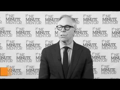 Hearst One Minute Mentor: Tommy Hilfiger on the Marketplace