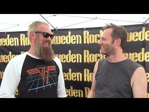 In Flames Interview - Bjorn Gelotte - Sweden Rock Festival 2018 (Eng subs)