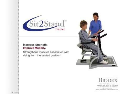 Biodex Sit2Stand™ Trainer Slide Presentation