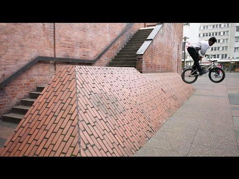 BMX Webisode: Courage Adams riding STREET in Germany