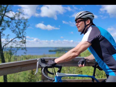 Velogi-bloggarin pyöräilyvideo Valkeakosken Sääksmäen pyöräilyreiteistä ja kohteista - Lyhyt versio
