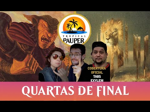 Red Deck Wins VS Jeskai Ephemerate - Tropical Pauper - Narração ao vivo - Quartas de Final