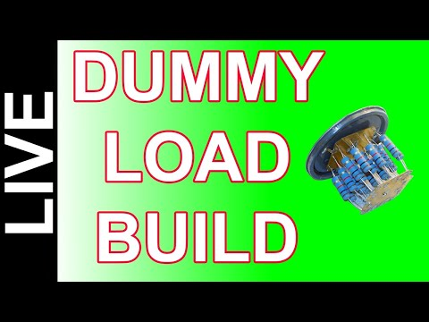 Ham Radio Dummy Load - DYI Build Your Own Dummy Load