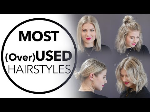 TOP 5 MOST USED HAIRSTYLES | Milabu