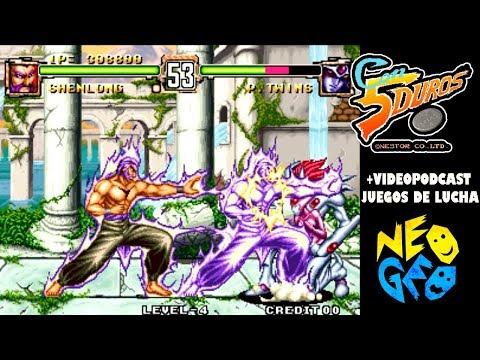 "VOLTAGE FIGHTER GOWCAIZER  - ""CON 5 DUROS"" Episodio 785 (+ Videopodcast Juegos Lucha Neo-Geo) (1cc)"