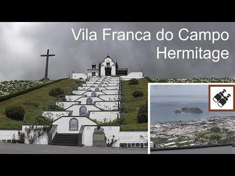 AZORES: Hermitage in Vila Franca do Campo (viewpoint) - São Miguel Island