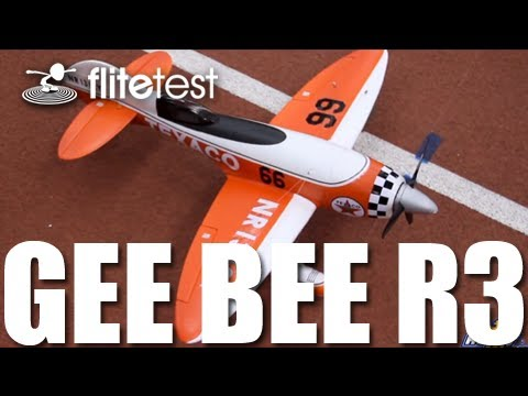 Flite Test - Gee Bee R3 - REVIEW - UC9zTuyWffK9ckEz1216noAw