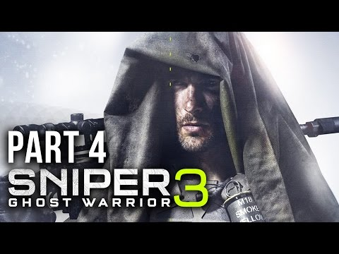 SNIPER GHOST WARRIOR 3 Walkthrough Part 4 - CUT OFF (Act 1)