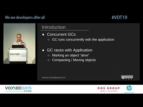 [VDT19] Concurrent Garbage Collectors: ZGC & Shenandoah by Simone Bordet [IT]