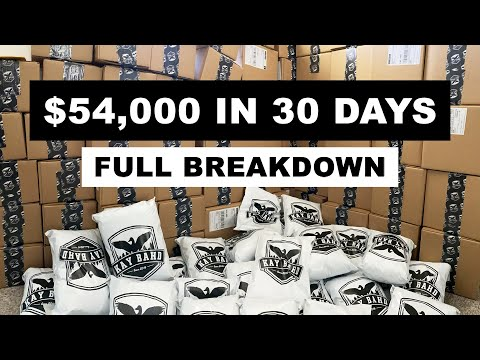 Behind The Scenes Of My Clothing Brand In The Past 30 Days – Restocking Inventory & Strategizing