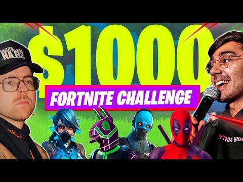 $1,000 Fortnite Challenge  eSports  Elevation YTH