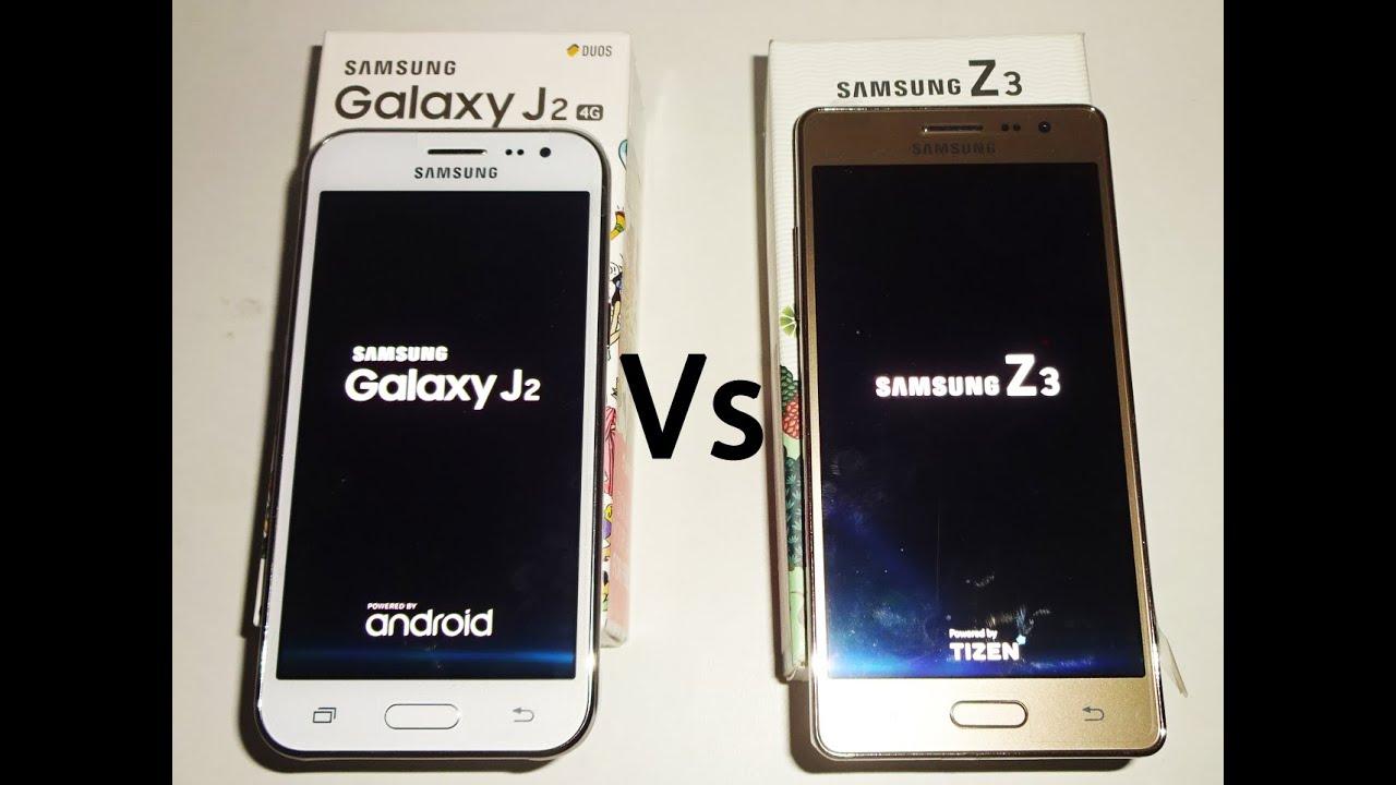 Samsung Z3 Vs Galaxy J2