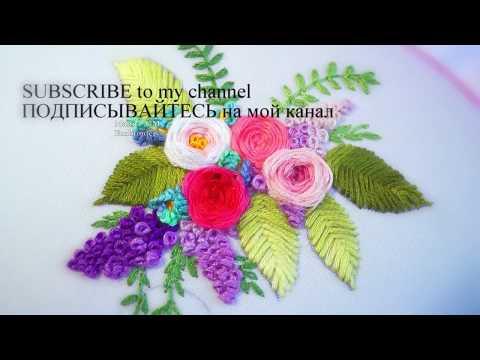 Hand Embroidery: WebRosa🌹Вышивка: Роза Паутинка🌹
