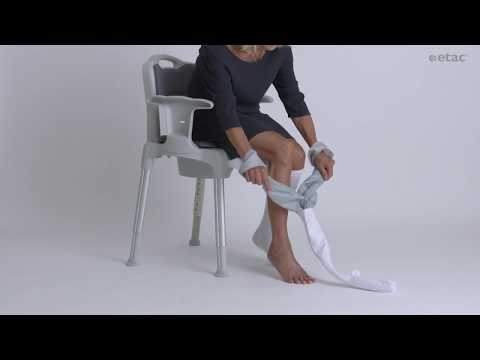 Need help putting on support and compression stockings?