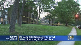 21-Year-Old Seriously Injured After Shooting In Howard County