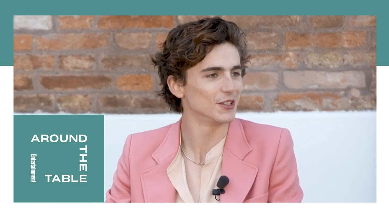 Timothée Chalamet on How he Became Familiar With 'Dune' | Around the Table | Entertainment Weekly
