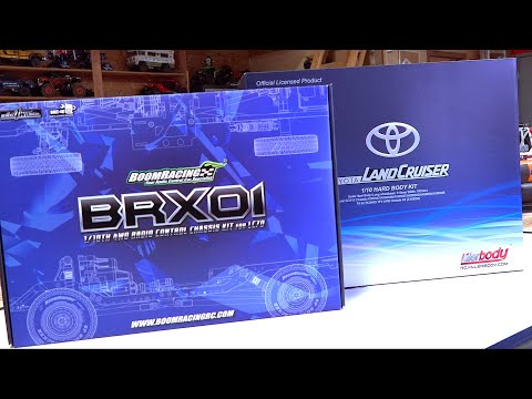 BRX01 BOOM RACING BUILD! TOYOTA LC70 LAND CRUISER TRUCK Eps 1 - UNBOXING | RC ADVENTURES - UCxcjVHL-2o3D6Q9esu05a1Q