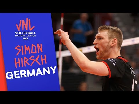 Simon Hirsch and Germany are dedicated to winning  VNL Stars   Volleyball Nations League 2019