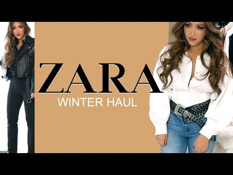 ★  NEW-IN ZARA TRY-ON HAUL ? AUTUMN Winter Clothing 2019 | OUTFIT IDEAS