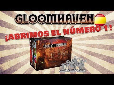 Gloomhaven - Unboxing Español - Yo Tenía Un Juego De Mesa #67