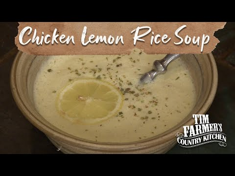 Traditional Greek Chicken Lemon Rice Soup Recipe - UC9YKFGyhVpRQEWrKuf98tyQ