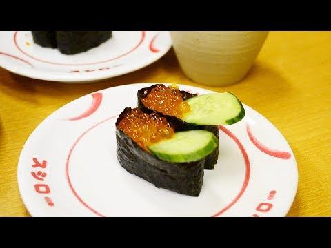 Все суши за 1$ — это вкусно?| Япония| Серия 13