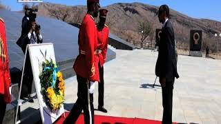 President Kagame visits Namibia's Heroes' Acre - NBC