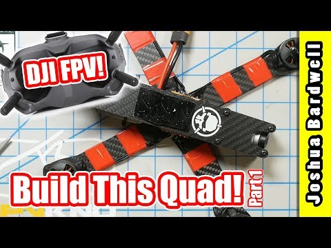 Build Your Own DJI FPV Quadcopter - Part 1 - Initial Assembly - UCX3eufnI7A2I7IkKHZn8KSQ