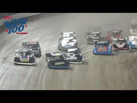 51st World 100 Feature | Eldora Speedway - dirt track racing video image