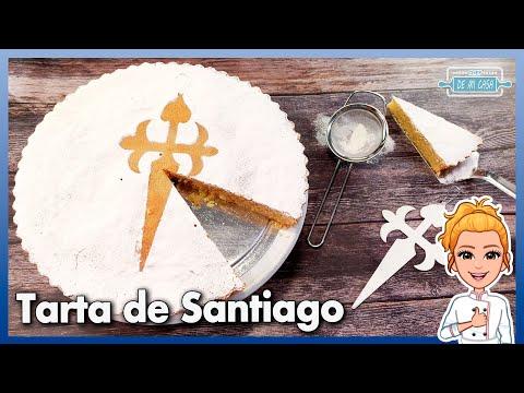 ? Receta ORIGINAL de TARTA de SANTIAGO (LA AUTÉNTICA) ? Muy Fácil, Rápida y Sin Gluten ?