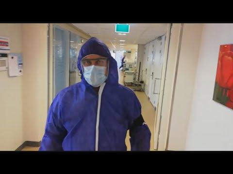 Ic-arts Marco na dienst van 24 uur: 'Het is heftig, de patiënten zijn relatief jong'
