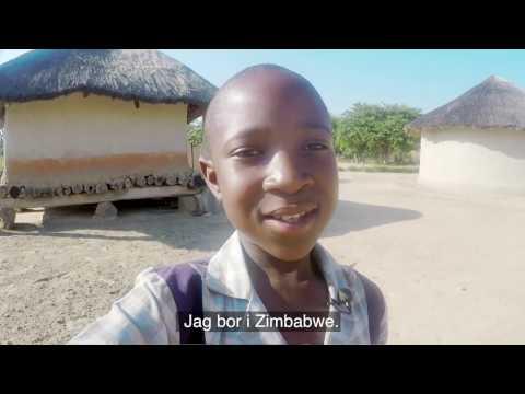 Gugulethu, fadderbarn i Zimbabwe - Plan International