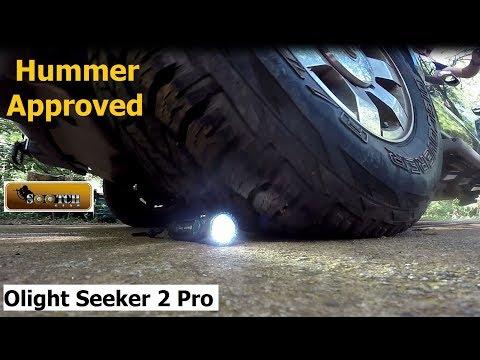 Olight Seeker 2 Pro 3200 Lumens   Review & Torture Test