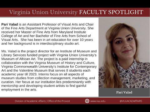 Faculty Spotlight | Pari Valad