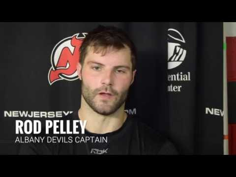 High Praise For Albany Devils Captain Rod Pelley