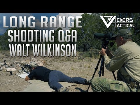 Long Range Shooting Q&A with Walt Wilkinson - Gunsite 2019
