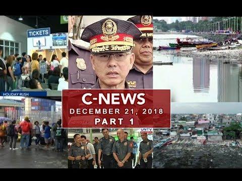 UNTV: C-News (December 21, 2018) PART 1